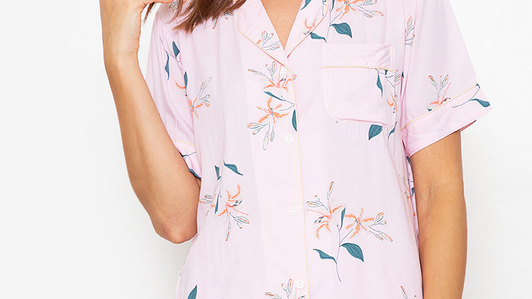 Lily Shortsleeve Pajama