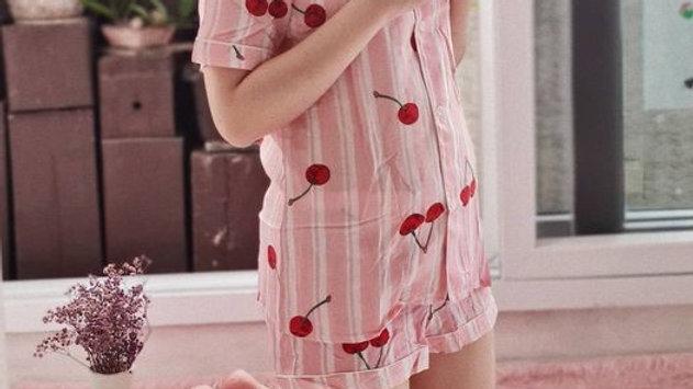 Cherry Shortsleeve Shorts