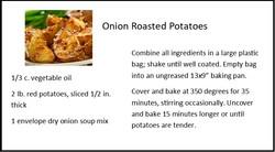 Onion Roasted Potatoes