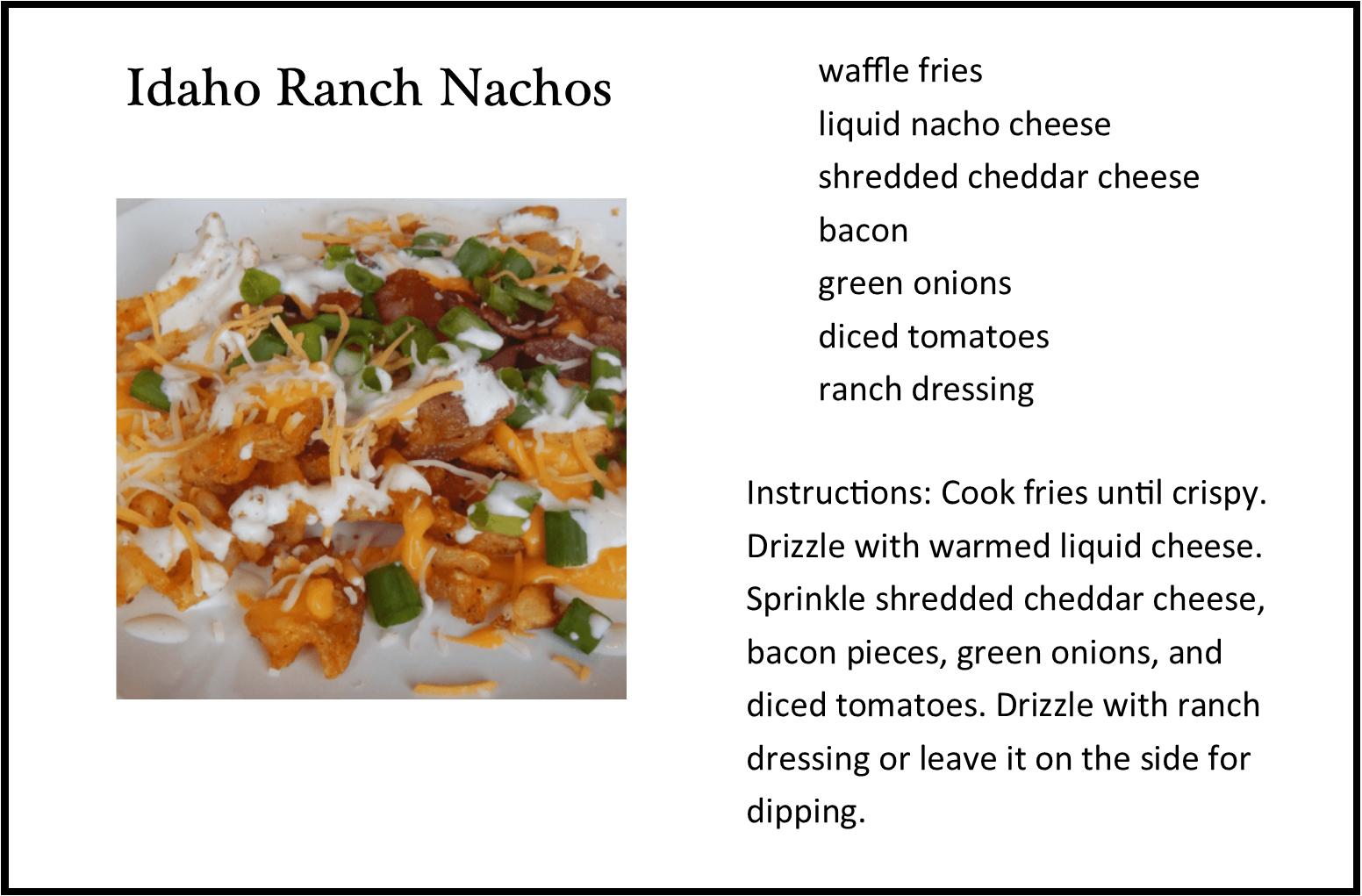 Idaho Ranch Nachos