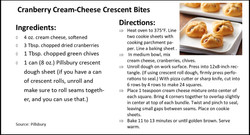 Cranberry Cream-Cheese Crescent Bites jp