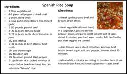 Spanish Rice Soup