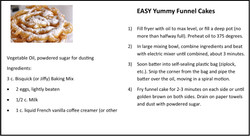 Easy Yummy Funnel Cakes