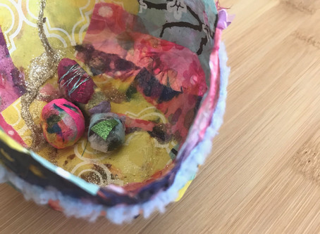 Nesting – A Sacred Mixed Media Art Workshop