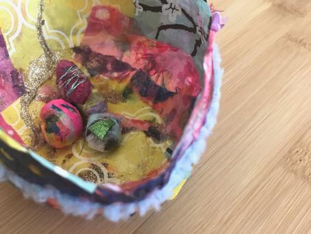Nesting – A Sacred Mixed Media Art Workshop
