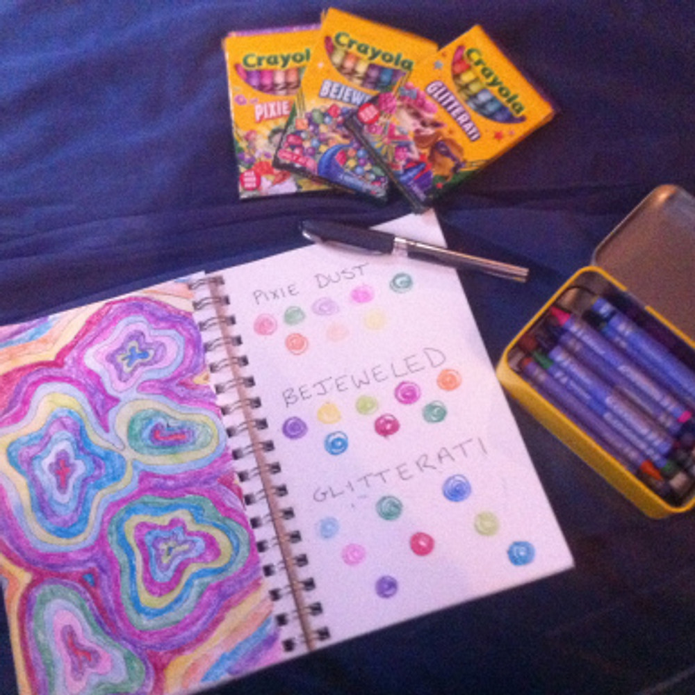 All the crayon things!