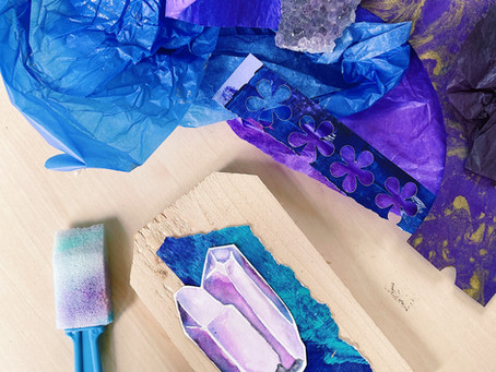 Crystal Shrines: Calling in Earth Beauty Magick