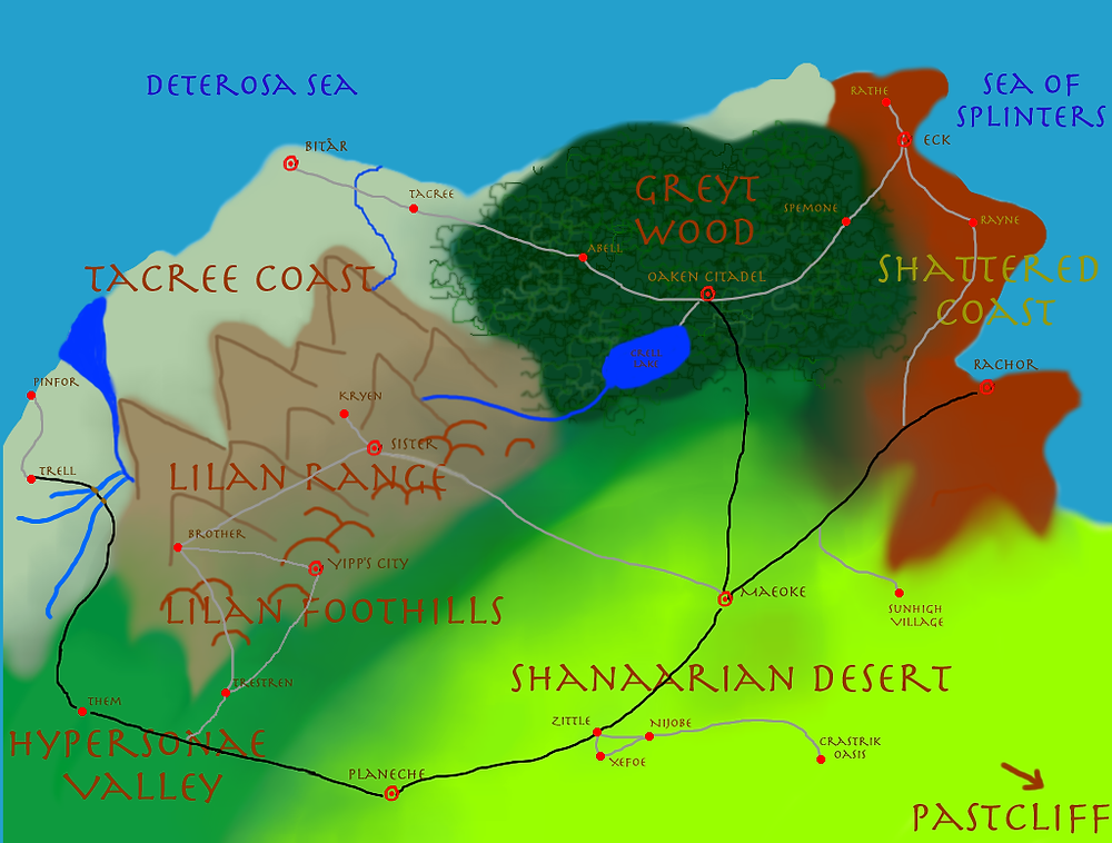 Map of Sunikor