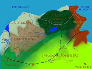 Map of Sunikor
