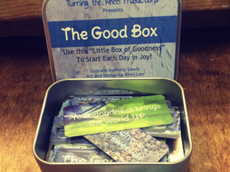 The GoodBox: An Artistic Collaboration with Turning the Wheel