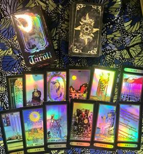 Holographic Rider-Waite Tarot
