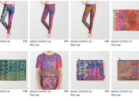 Spring Collection on Society 6