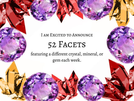 52 Facets – New Weekly Zine for 2020