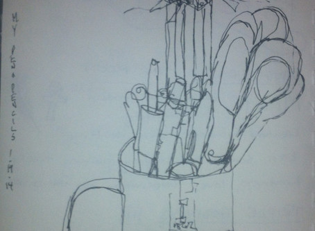 Continuous Line Drawing: Pens and Pencils