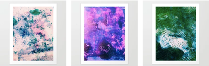 Summer Collection on Society6 featuring Art from 52 Feathers