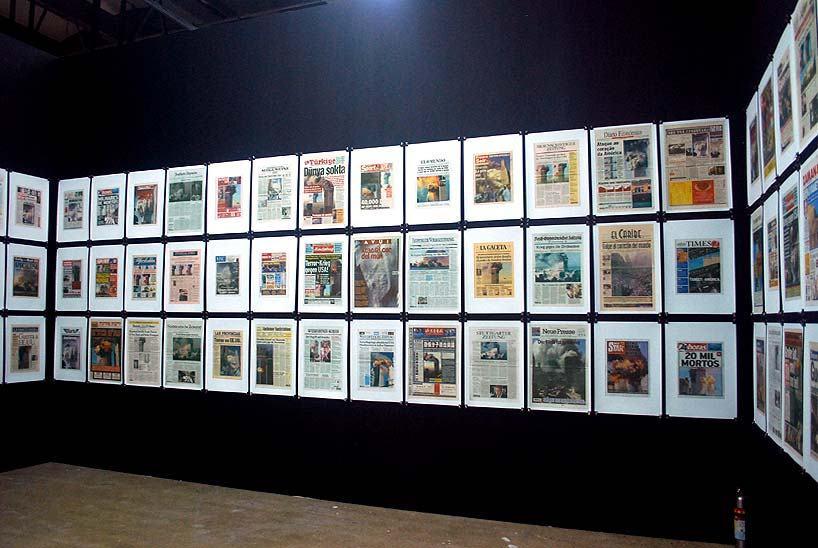 Hans-Peter Feldmann, '9-12 front page', 2001