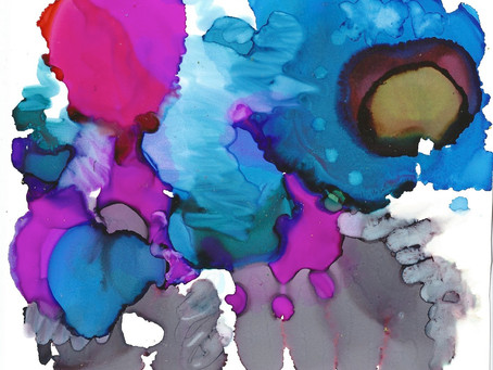 Yupo Print – Blue Dragon