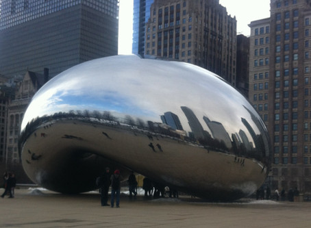 Anish Kapoor and the Cloud Gate