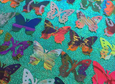 OBSESSION – Mini Paper Butterflies