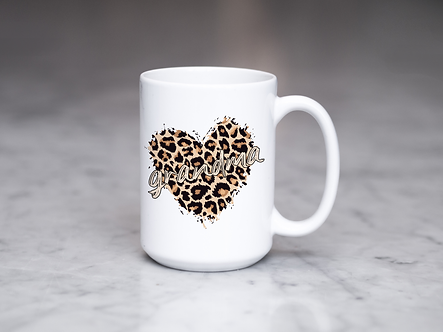 For Her Leopard Love Mugs