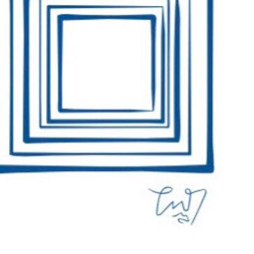 Frames blue