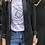 Thumbnail: White T-shirt with black Emblem design