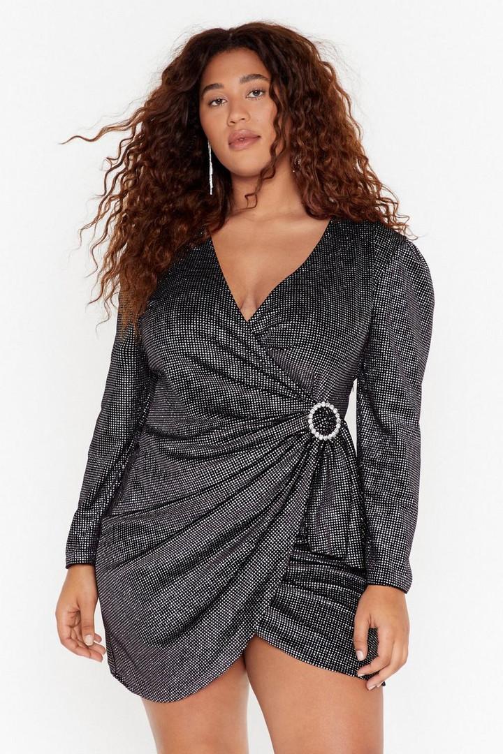 womens-black-good-night-plus-wrap-dress.