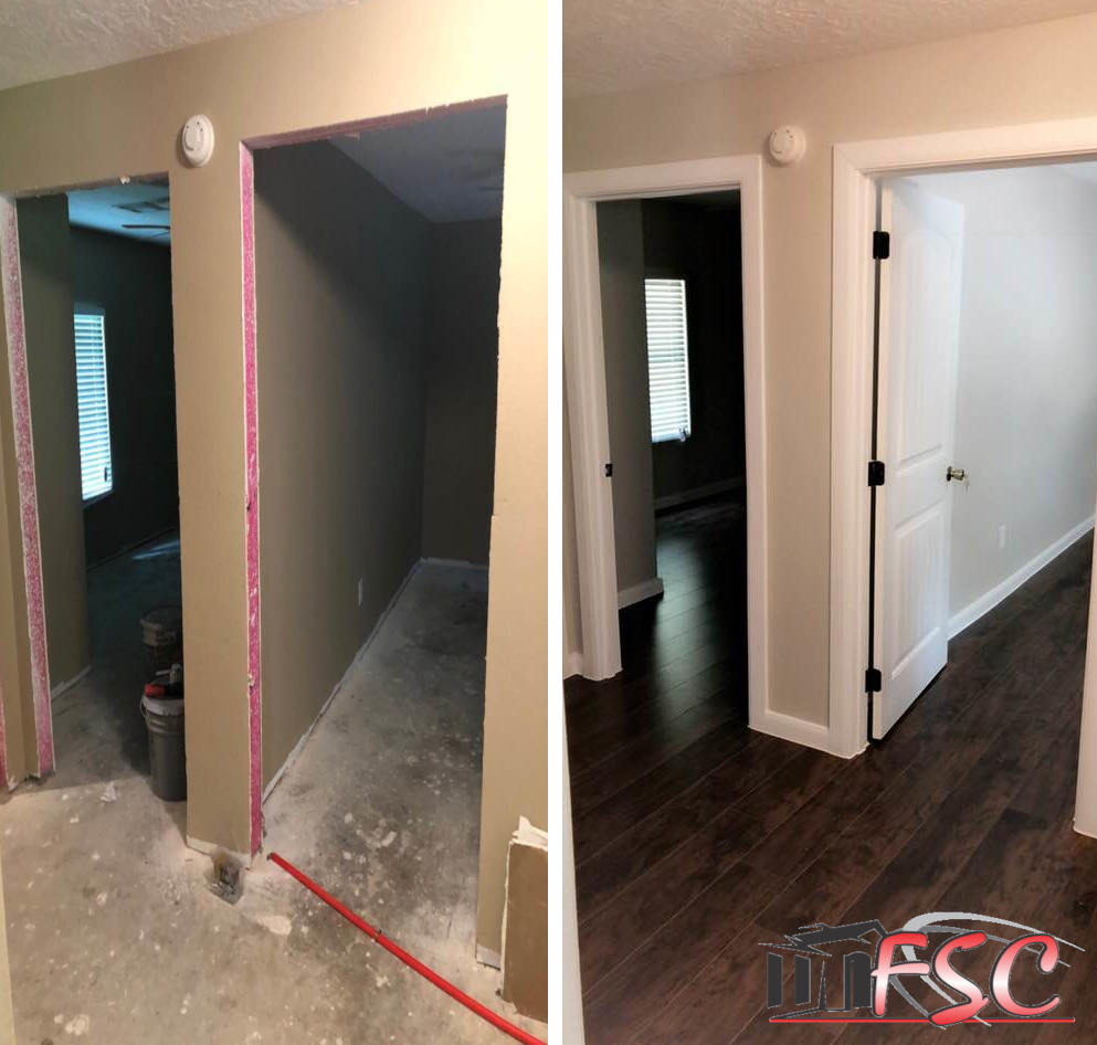 Before  &  After  -  Construction