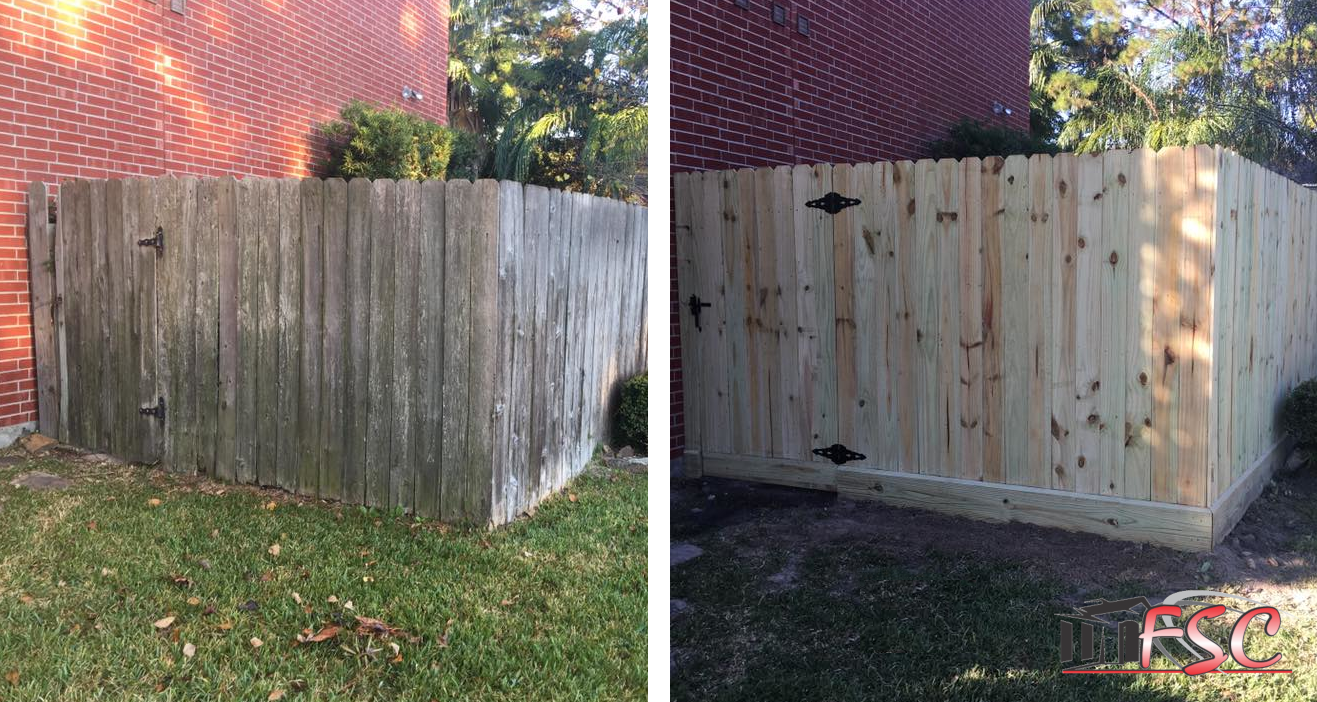 Old Fence - New Fence