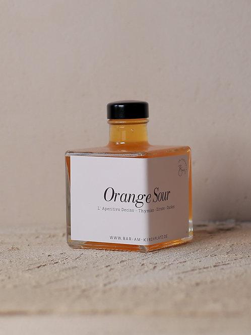 Bottled Cocktail - Orange Sour 200ml - Vol. 10% Alc.