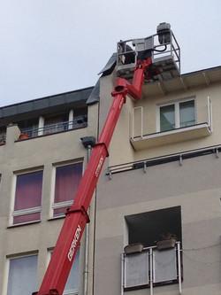 Reparaturarbeiten Sturmschaden