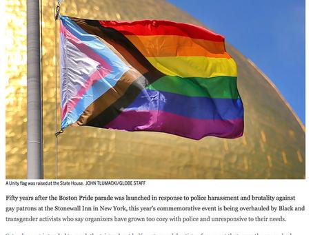 On 50th anniversary of Boston Pride, transgender activists return to resistance