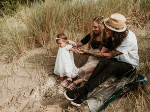 familieshoot in de duinen