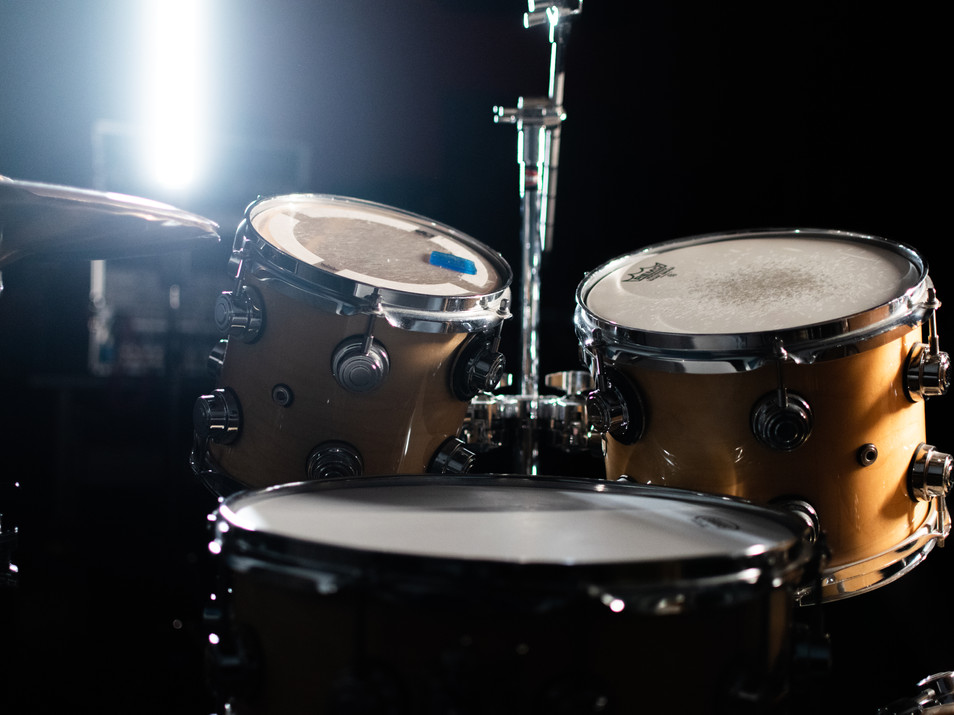 Track your Drums today at Ridenhour Studios