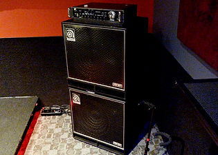 Markee Music Studio B Working Pro 700 Amp Bass Rig