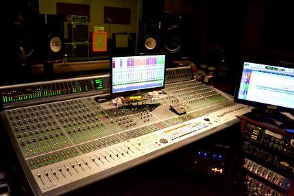 Markee Music Recording Studio Control Room
