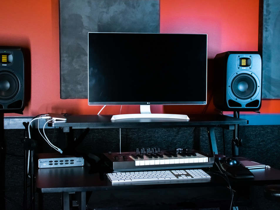 Control Room at Ridenour Studios