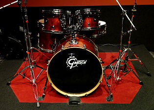 Markee Music Studio E Gretsch Red Catalina Birch