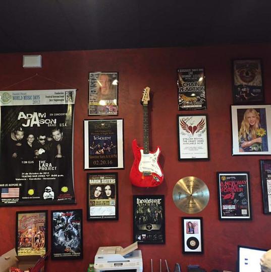 Markee Music Artist Display