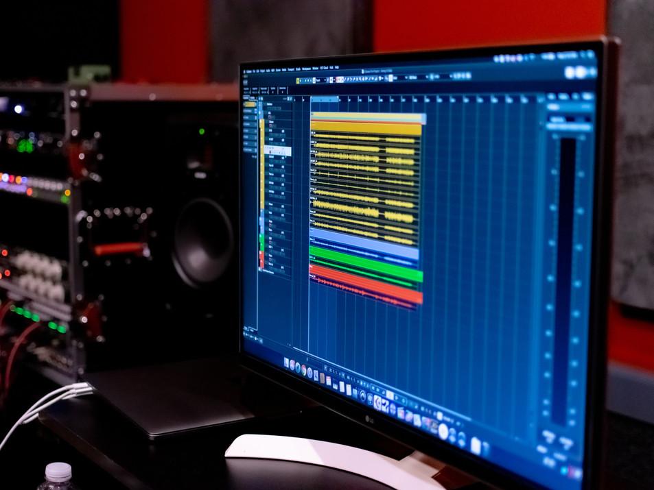 Recording Session at Rideour Rehearsal Studios