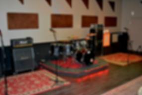Markee Music Recording Live Room