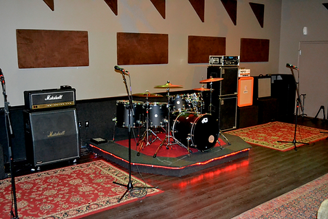 Markee Music Recording Live Room
