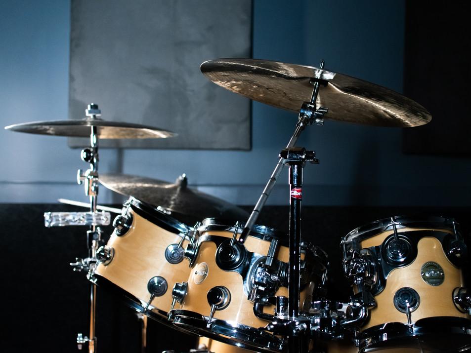 DW Kit at Rideour Rehearsal Studios