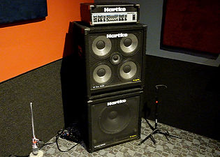 Markee Music Studio E Hartke HA3500 Bass Rig