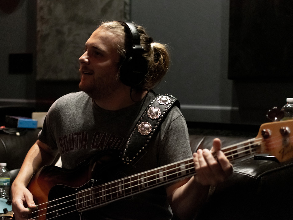 Tracking Bass at Ridenour Rehearsal Studios