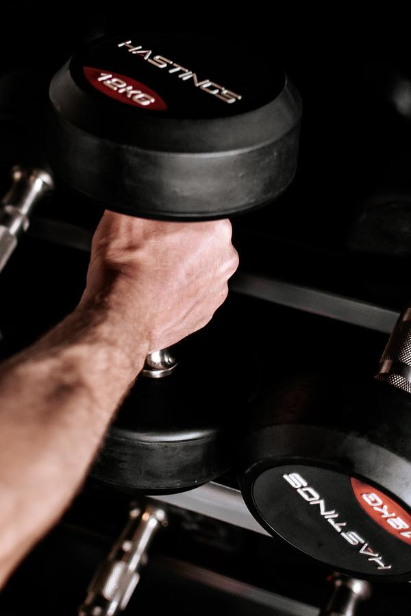Workout fotoshoot