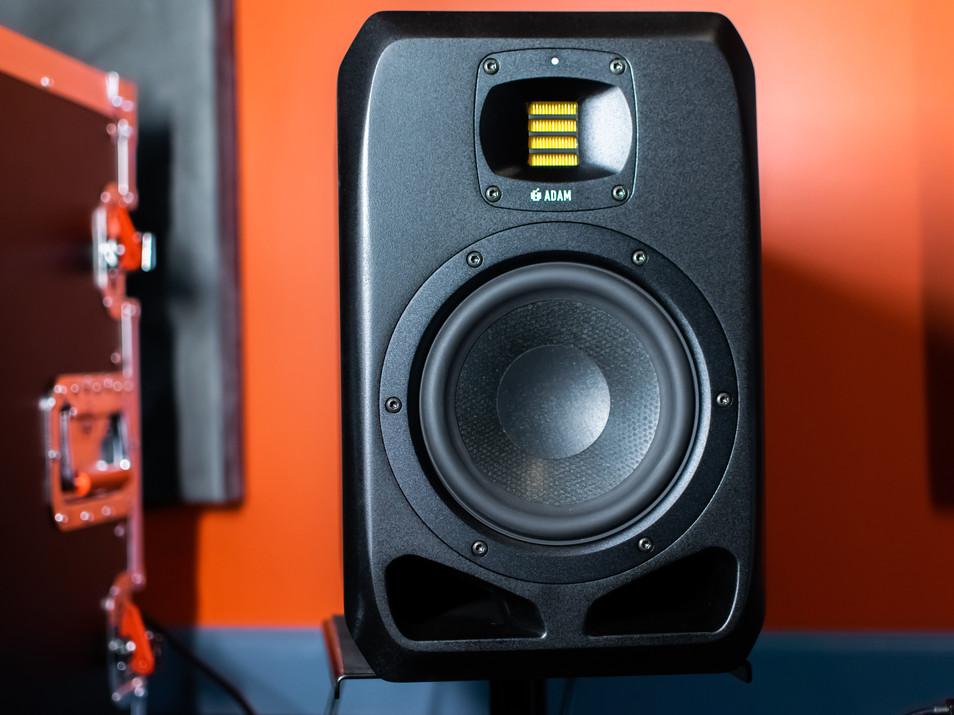 Adam Monitors at Ridenour Studios