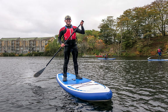 Paddleboard with Windsurfing Club