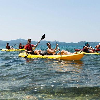 Kayaking with Windsurfing Club