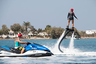 Flyboard with Windsurfing Club